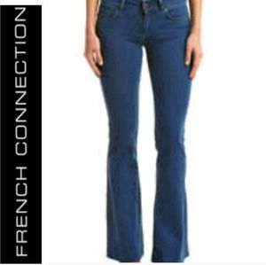 French Connection - Dark Wash Flare Jeans